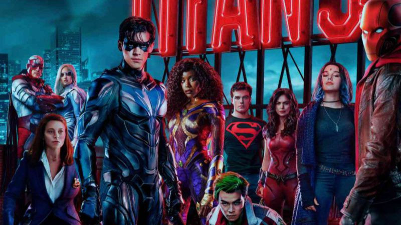 DC Titans: spectacular final trailer of the third season and official posters