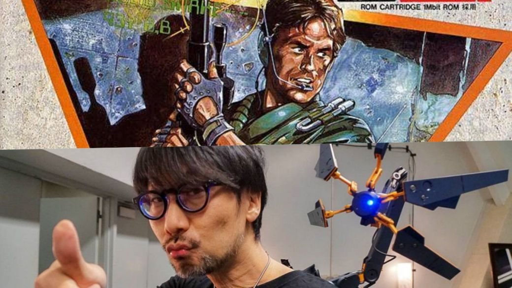 Kojima handed out flyers at a store promoting the first Metal Gear