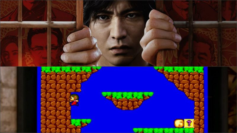 Lost Judgment will have a playable SEGA Master System;  new gameplay