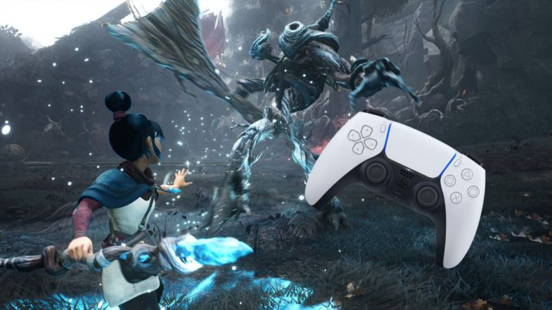 Kena shows off his adaptation to the PS5 DualSense in a new trailer
