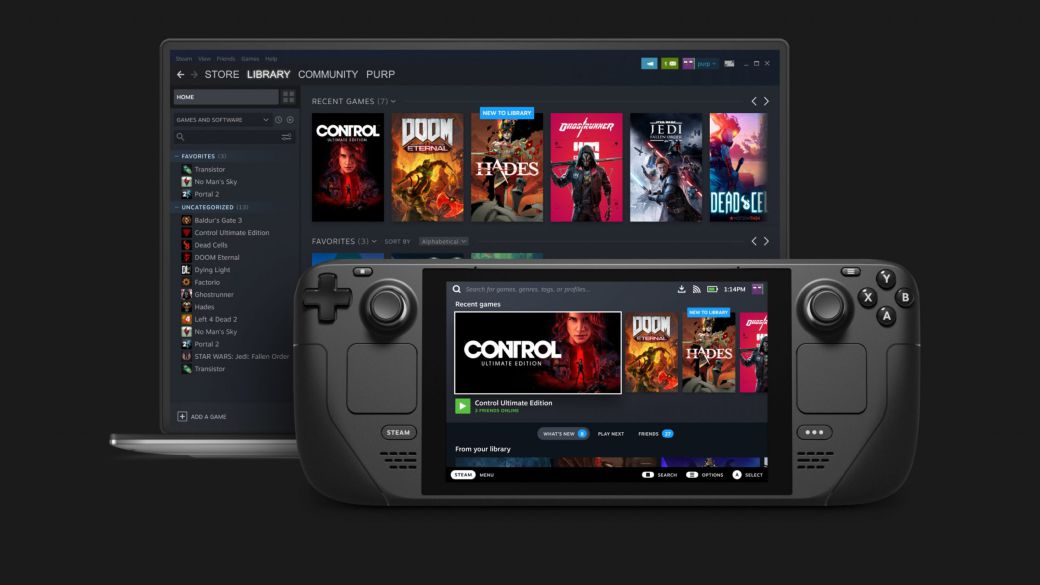 Steam Deck may run other third-party software and operating systems