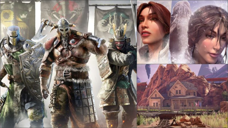 The best free and sale games for this weekend;  For Honor, Syberia and more