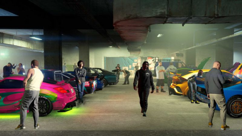 GTA Online brings us underground cars and racing in its new expansion