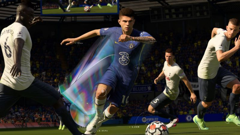 FIFA 22 shows the first teaser of its gameplay;  more on EA Play Spotlight