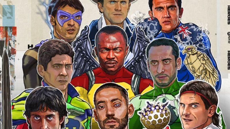 FIFA 22 celebrates its FUT Heroes;  this is how Fernando Morientes looks like a comic superhero