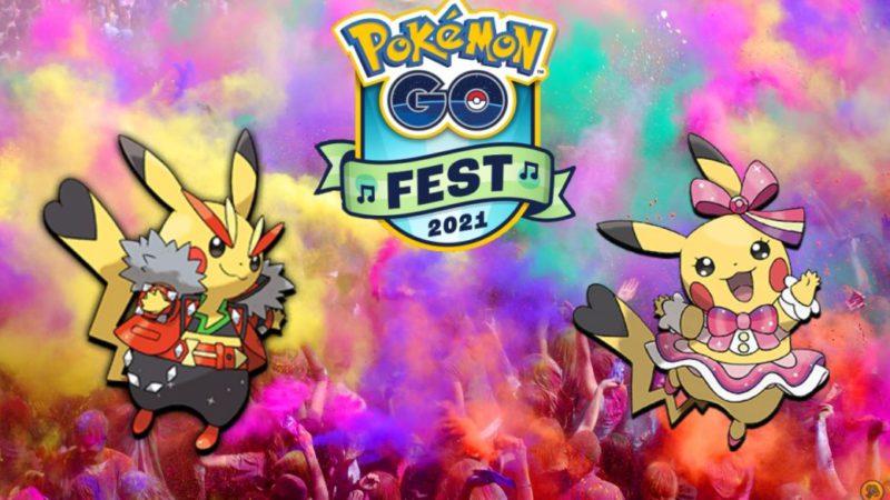 Pokémon GO Fest 2021: how to get Pikachu Superstar and Pikachu Roquera