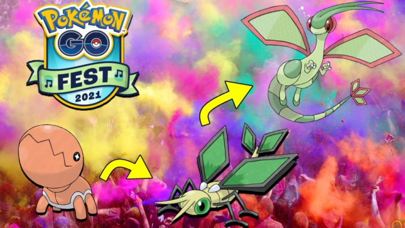 Pokémon GO Fest 2021: how to get and evolve Vibrava in Flygon with Tierra Viva
