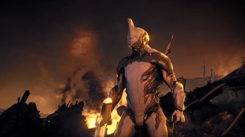 Warframe shows half an hour of the New War, its next story arc