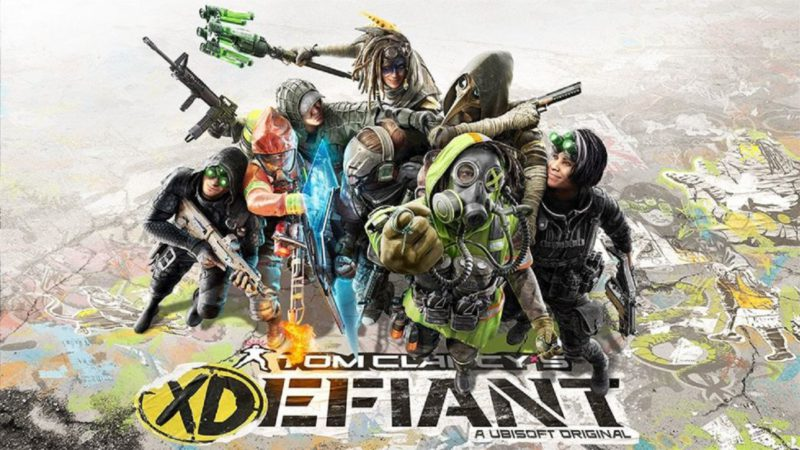 This is Tom Clancy's XDefiant, a new multiplayer shooter;  trailer and first details