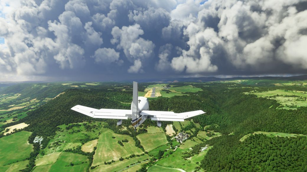 Microsoft Flight Simulator reveals what it occupies in Xbox Series X / S: it is not little