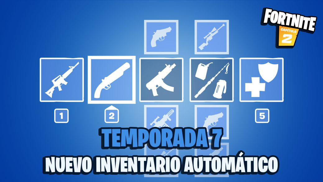 Fortnite: this is the new inventory preferred item slot system