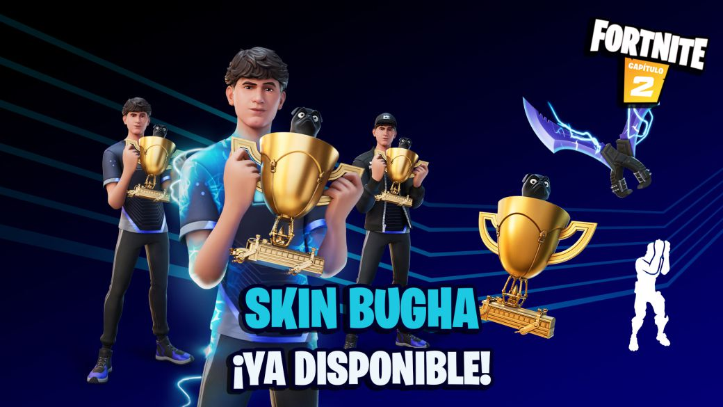 Fortnite: Bugha skin now available;  price and contents