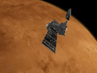 Orbitador espacial ExoMars: No hay (hasta ahora) signos de vida en Marte
