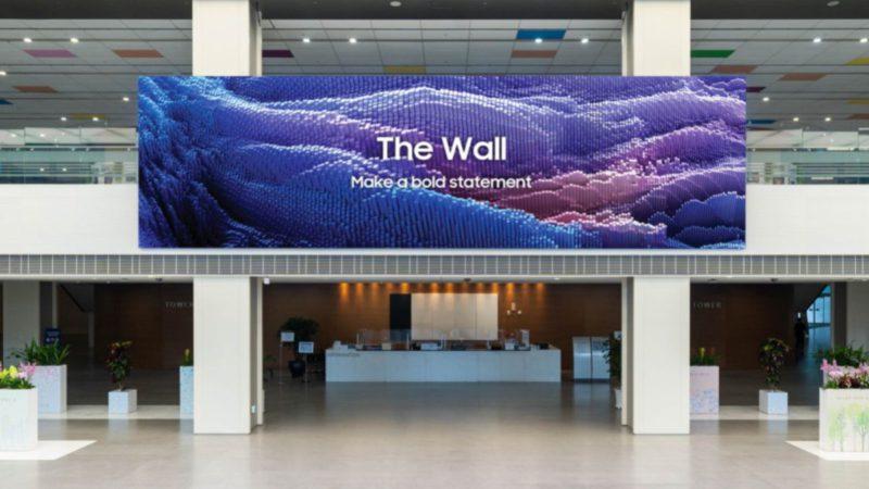 El televisor que nunca podrás tener en casa: Samsung The Wall de 1.000 pulgadas y 16K