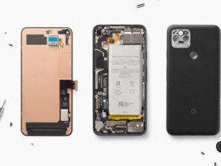 Una actualización de Google filtra por error datos sobre cómo podría ser su futuro 'smartphone' Big Pixel 6