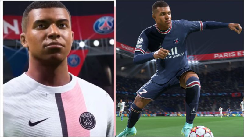 Mbappé wears white in FIFA 22;  this is what the new PSG kit looks like in the game