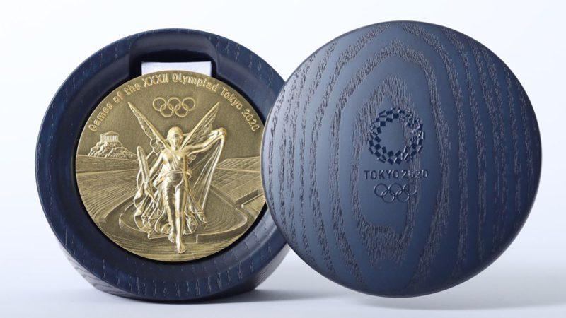 Las medallas olímpicas de Tokyo 2020 están hechas con 6 millones de móviles viejos