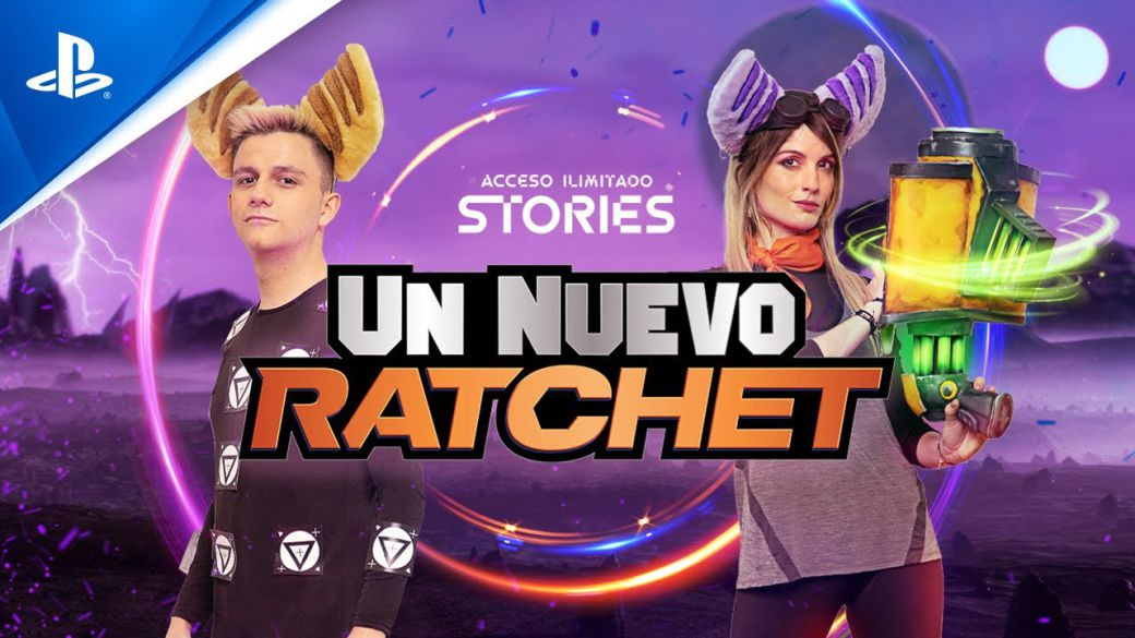 Now available the short Un Nuevo Ratchet;  know the new chapter of Unlimited Access here