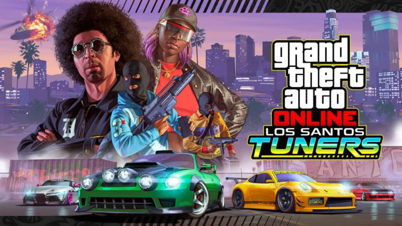 GTA Online: Los Santos Tuners Now Available With New Bounties, Cars, Music And More