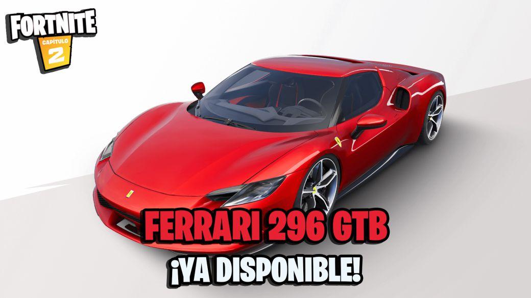 The Ferrari 296 GTB Comes to Fortnite;  All the details