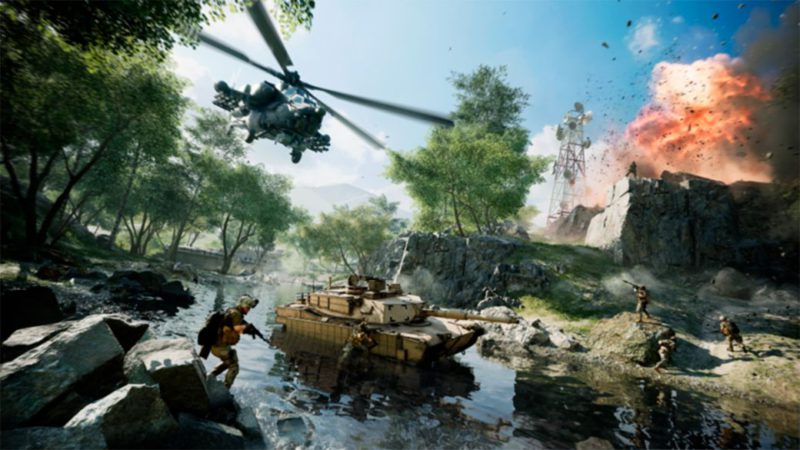 Battlefield 2042: portal mode will not need more hard drive or SSD space