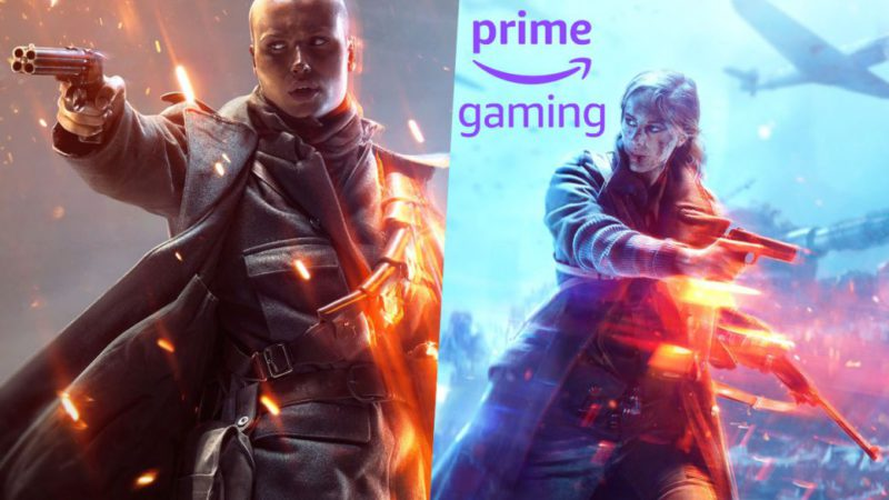 Battlefield 1 and Battlefield 5, free games on Amazon Prime Gaming