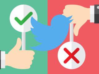 Nueva función en Twitter que promete traer cola: Los votos negativos