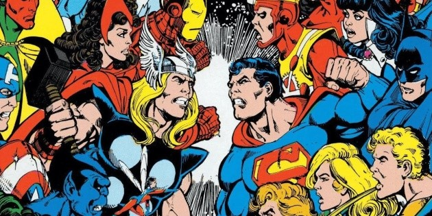 It was a major piece of DC and now claims that Marvel is better