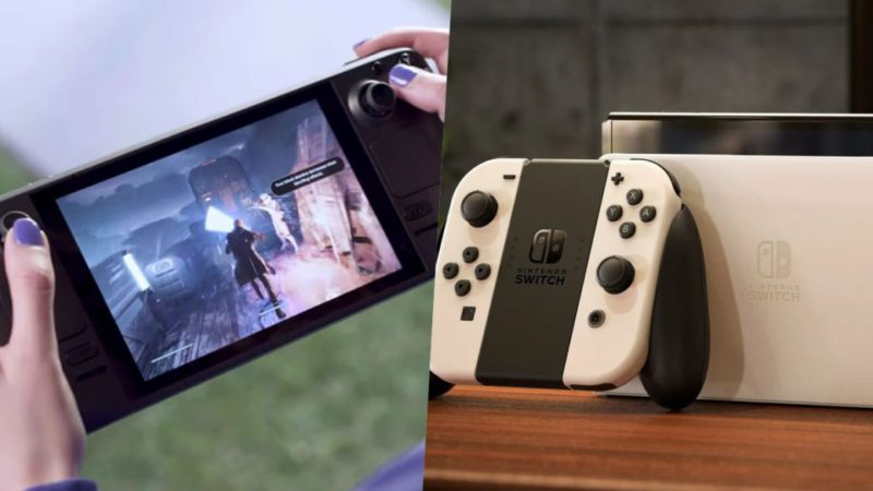 Steam Deck: Valve says Nintendo Switch is targeting a different audience