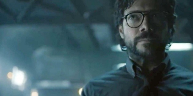 The last play of The Professor is in danger in the new trailer for La Casa de Papel 5