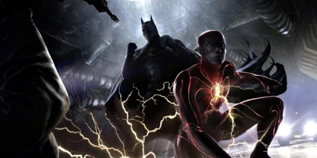 Images of Batman on the set of The Flash: New Suit and Vehicle!