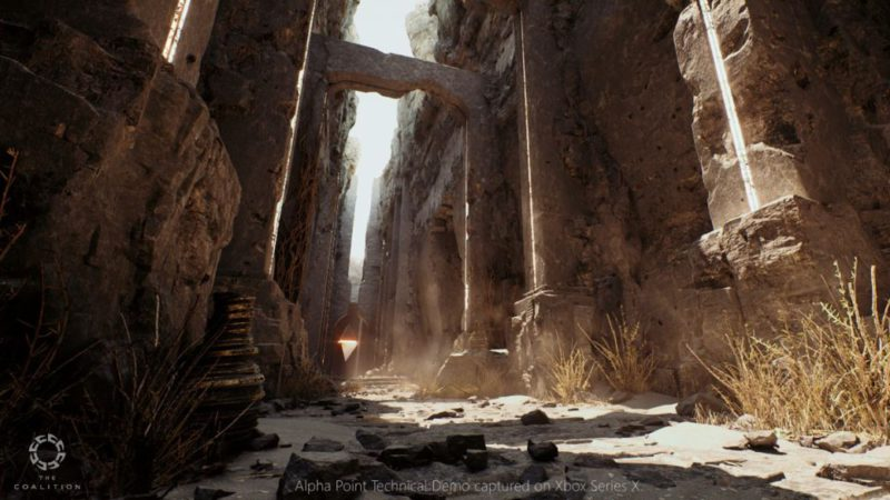 The creators of Gears 5 present their spectacular demo in Unreal Engine 5