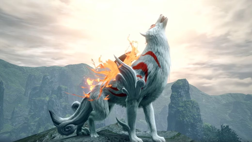 Monster Hunter Rise will receive an Okami themed event;  date and trailer