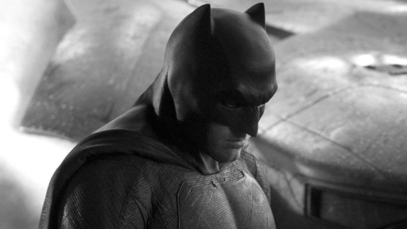 The Flash: Ben Affleck's Batman and his Batmoto are seen for the first time on the set