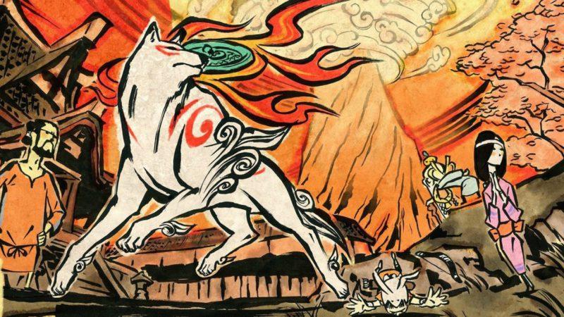 Okami will honor Monster Hunter Rise with the presence of the Sun Goddess Amaterasu