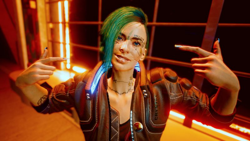 A Cyberpunk 2077 mod lets you listen to songs outside of vehicles