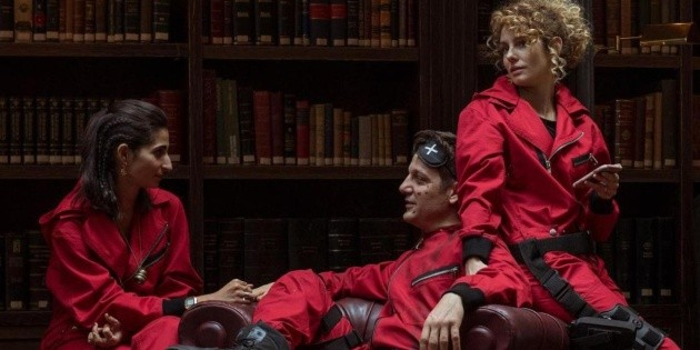 The actors of La Casa de Papel received an emotional gift from Netflix