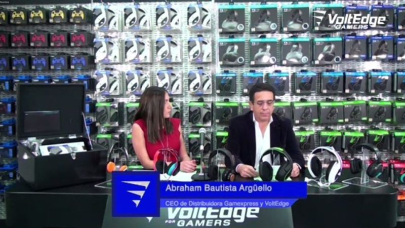 VoltEdge for Gamers: accessories that seek to conquer the Mexican market
