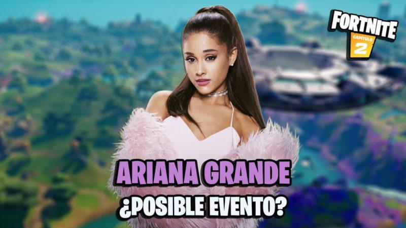 fortnite capitulo 2 temporada 7 evento concierto ariana grande cuando es