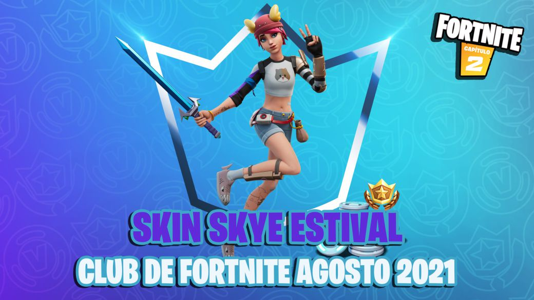 This is the Skye Estival skin from the Fortnite Club of August 2021