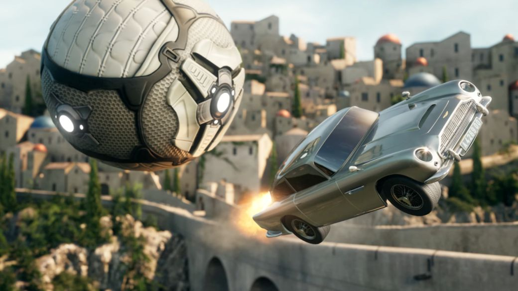 Rocket League Welcomes James Bond's Aston Martin DB5;  trailer, date and price