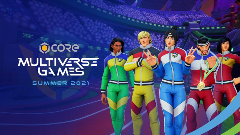 Core celebrates the Multiverse Games Summer 2021, its particular Olympics;  dates