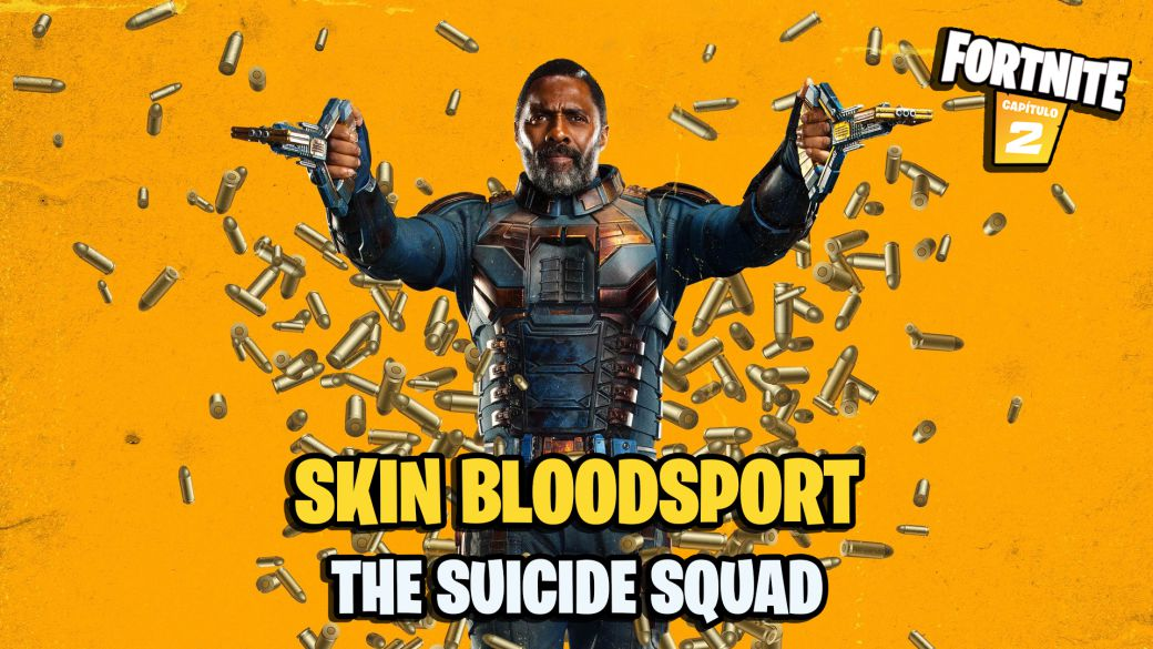 Fortnite: BloodSport (Idris Elba) from the Suicide Squad is coming to the game