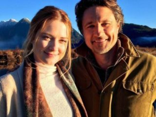 Virgin River: Alexandra Breckenridge and Martin Henderson are a couple?  This is your true relationship