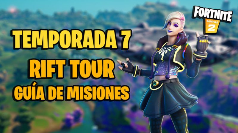 Fortnite Rift Tour Challenges;  how to complete all missions and rewards
