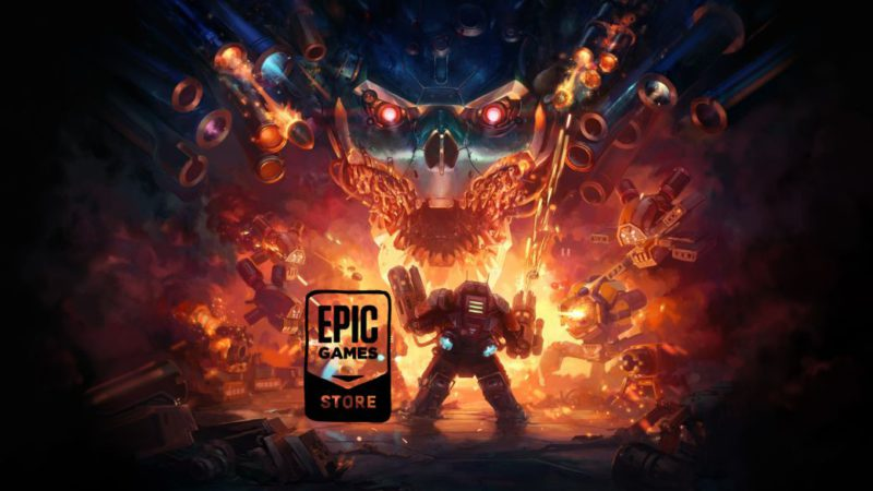 Mothergunship, among the free games on the Epic Games Store
