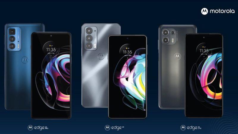 Motorola introduced the new edge 20 pro, edge 20 and edge 20 lite