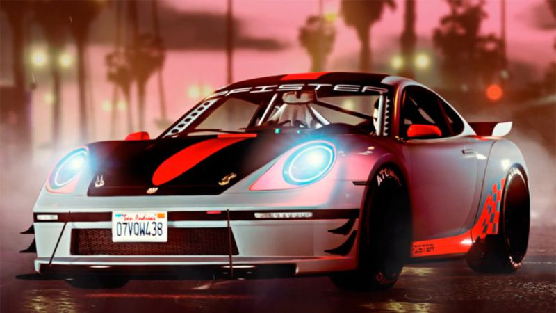 GTA Online: new Pfister Comet S2 sports car, double bonus in races and Vespucci Job and more