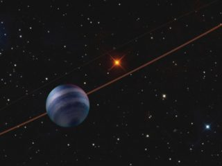 Astronomy: Huge exoplanet with a gigantic orbit directly imaged