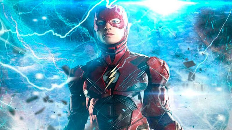The Flash: first look at Flash's suit in leaked video and filming stopped due to accident